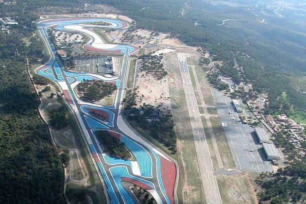 Circuit Du Castellet France Race Courses Aerial View Circuit