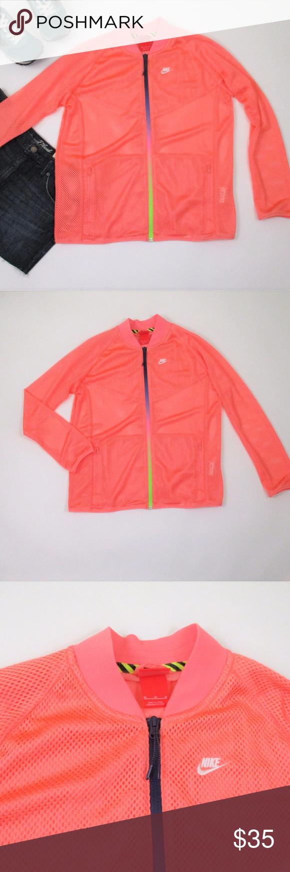 Nike M Windrunner Bomber Jacket Pink All Mesh Euc Pink Bomber Jacket Bomber Jacket Jackets [ 1740 x 580 Pixel ]