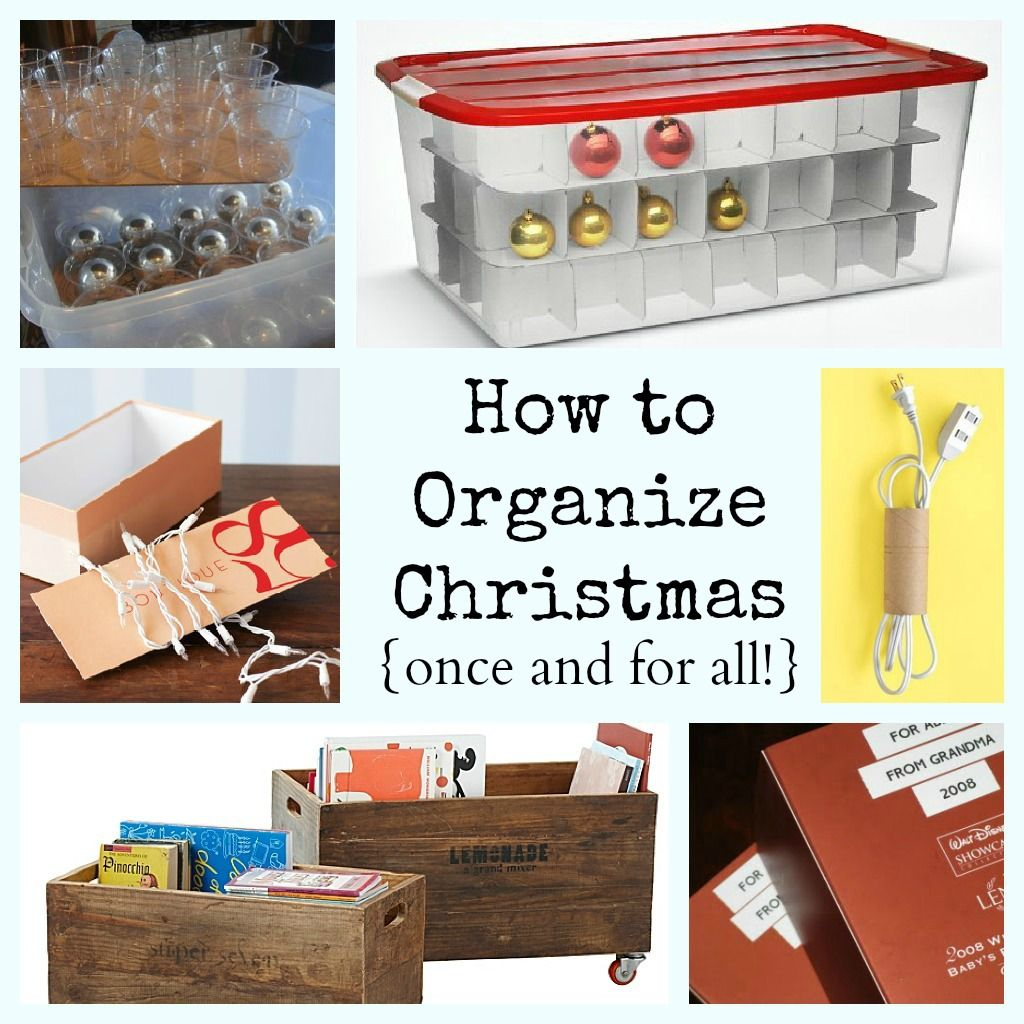 Must-Read Christmas Organization And Storage Ideas-- How