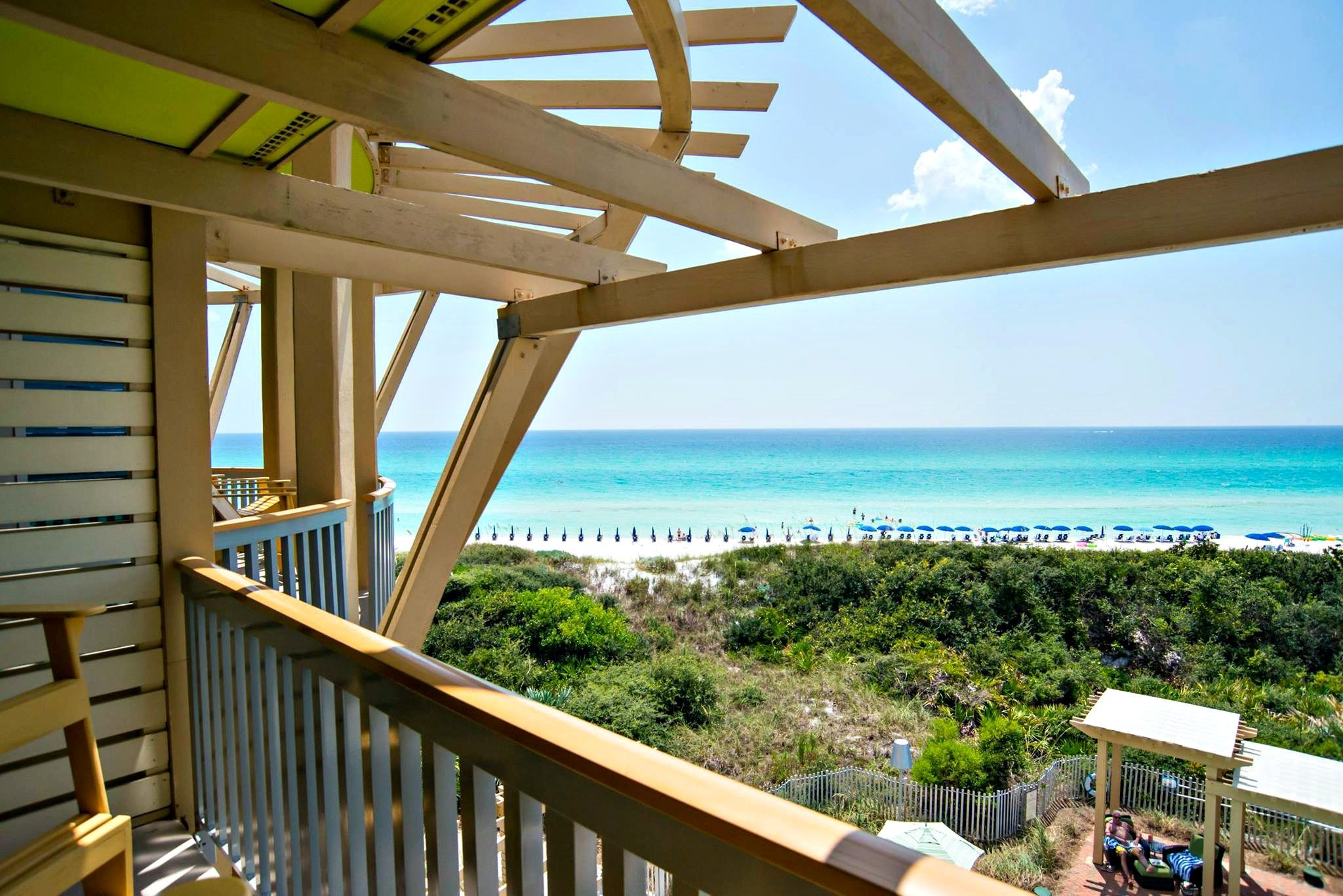 Balcony View At Watercolor Inn And Resort Watercolor Inn And Resort