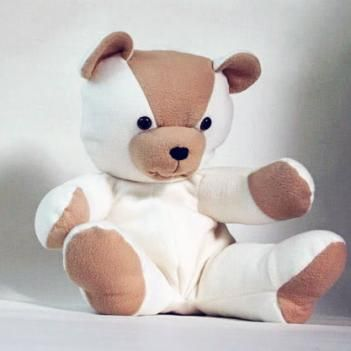 Joyful Teddy Bear sewing pattern | DIY | Pinterest | Teddy bear ...