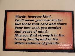 Image result for short condolence poems for a loss of
