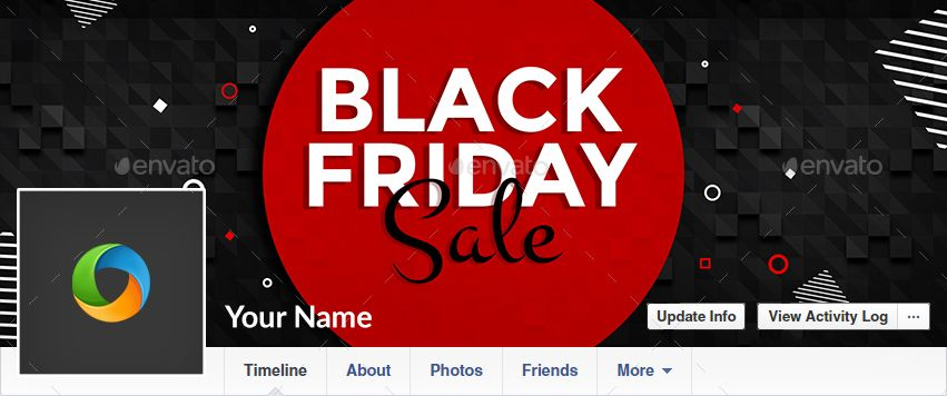 Black Friday Facebook Cover Templates