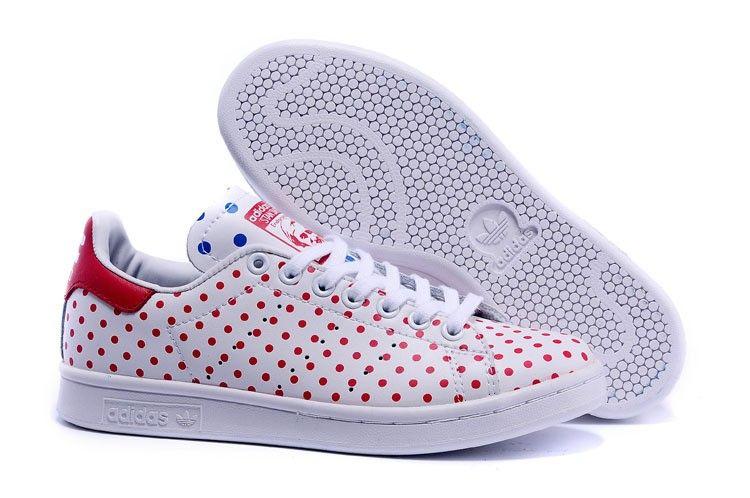 c669f25dd Adidas PW Originals Stan Smith SPD B25401 Unisex Causal Walking Shoes White  Red