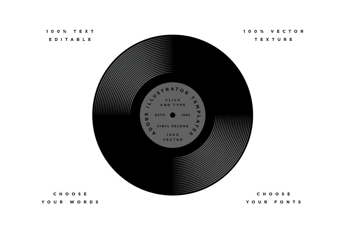Vinyl Record Template Vinyl Records Records Templates