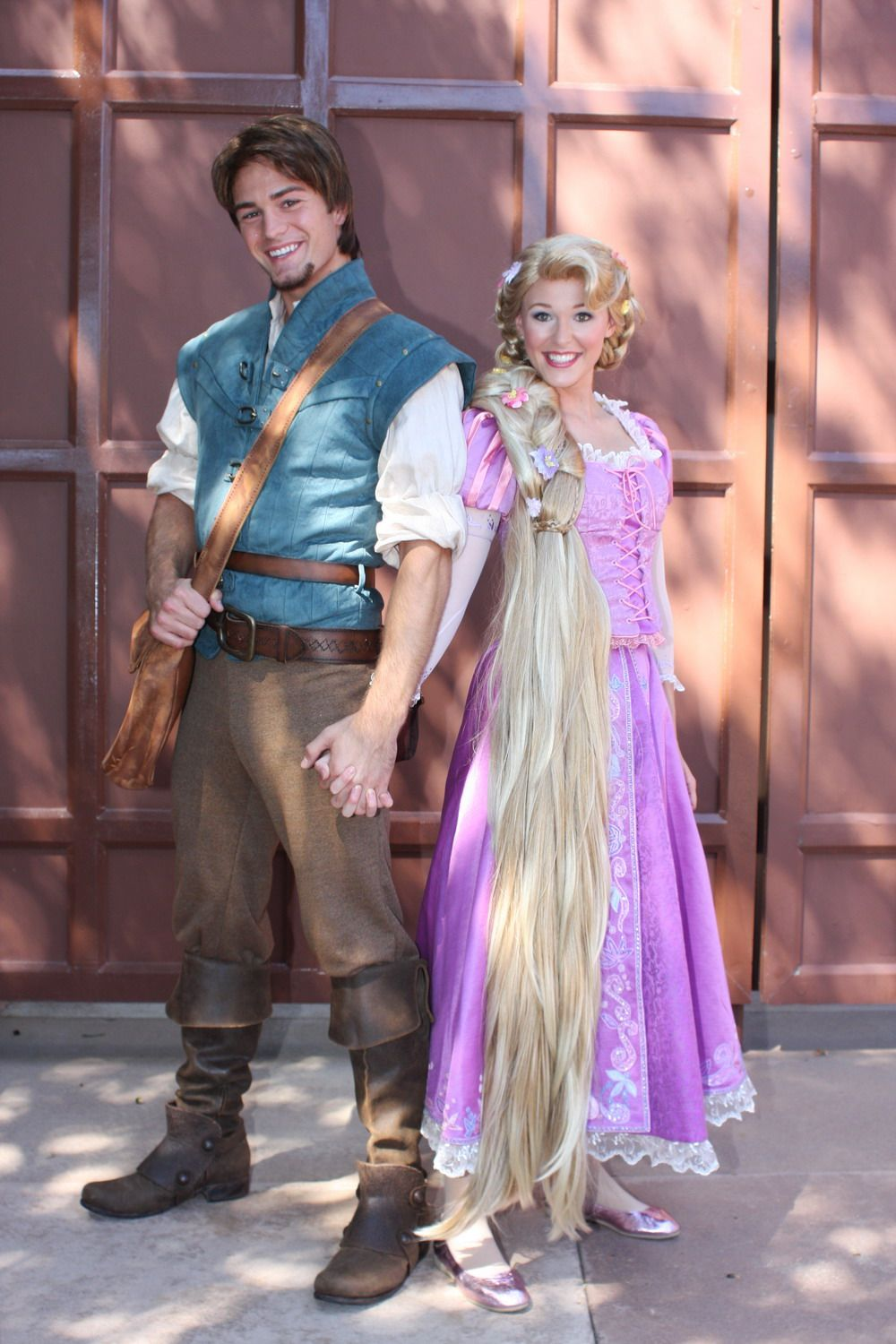 Rapunzel And Flynn Ryder Rapunzel Halloween Costume Disney Couple Costumes Disney Halloween Costumes