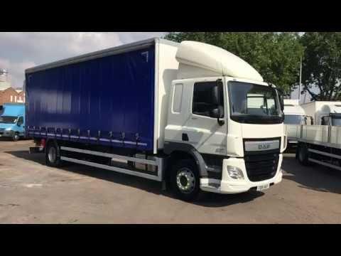 Fd15 Aay Video Daf 65cf 220 Curtainside Euro 6 Used Trucks