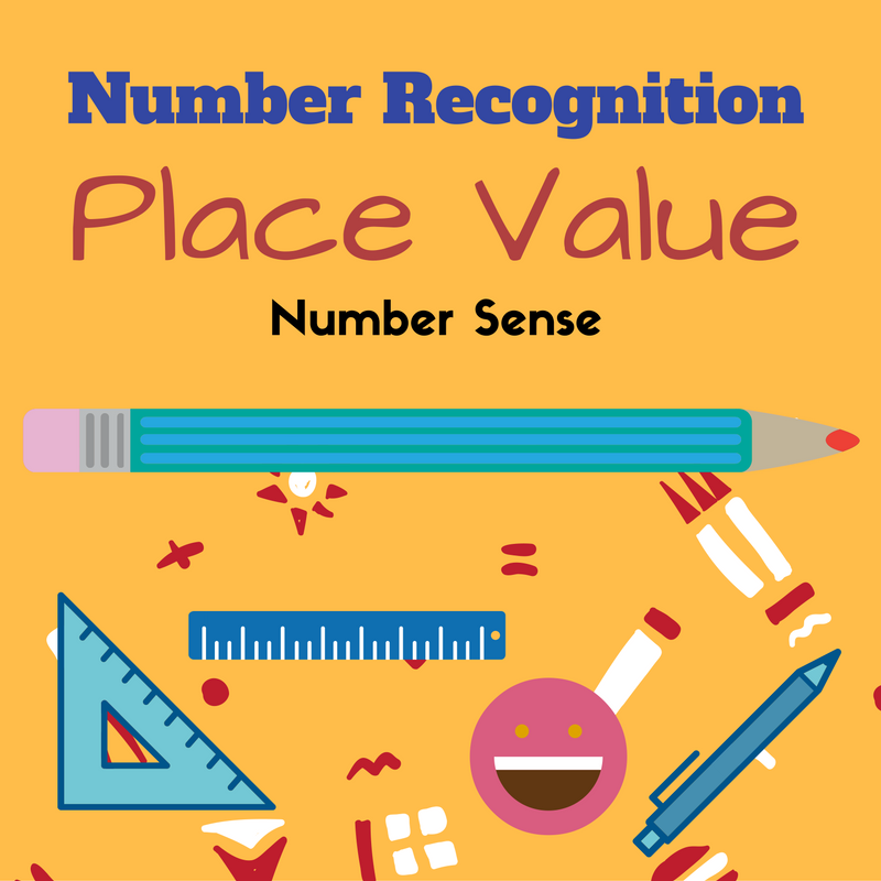 Number Recognition And Number Sense Activities Free Printables