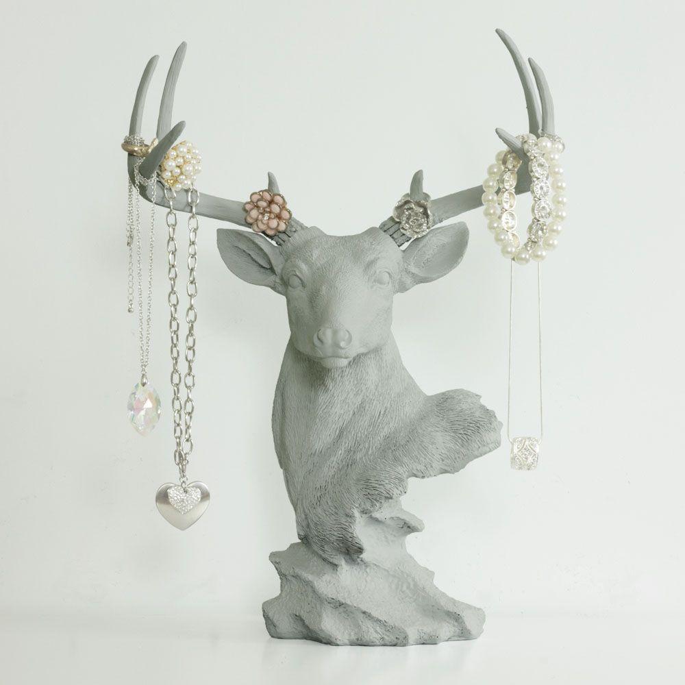 Deer Necklace Rack Table Charmer™ - Wall Charmers™