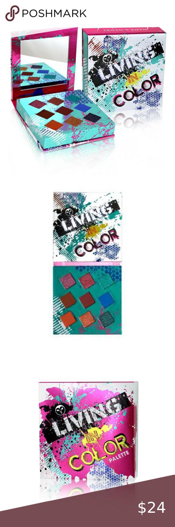 Hank & Henry Living In Color Eye Palette 🎨 in 2020 Eye