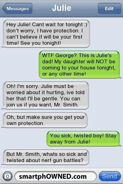 I love nerf weapons wars!  #funnytext #funnytexte #funnytextmessages #textmessage #funnytextmessages