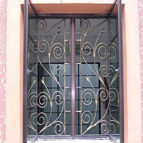 Beautiful Window Grill Gate in 2020 | Window grill, Window ...