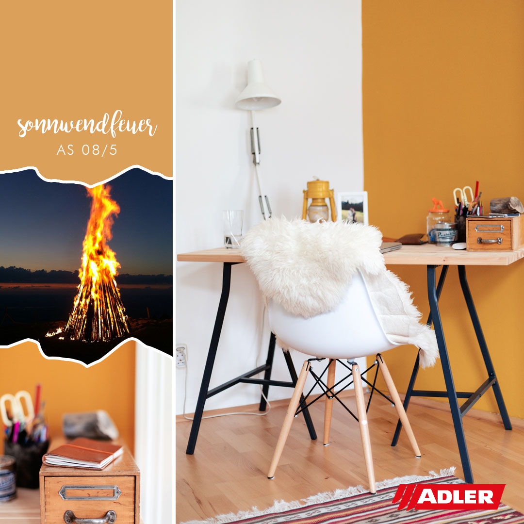 Premium Wandfarbe Sonnwendfeuer Aviva Ultra-Color AS 08/5