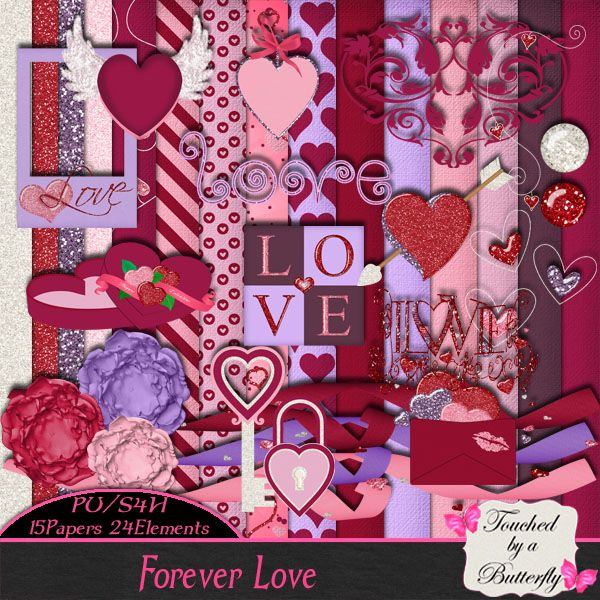 Berry Applicious Blog Train: Touched By A Butterfly Forever Love