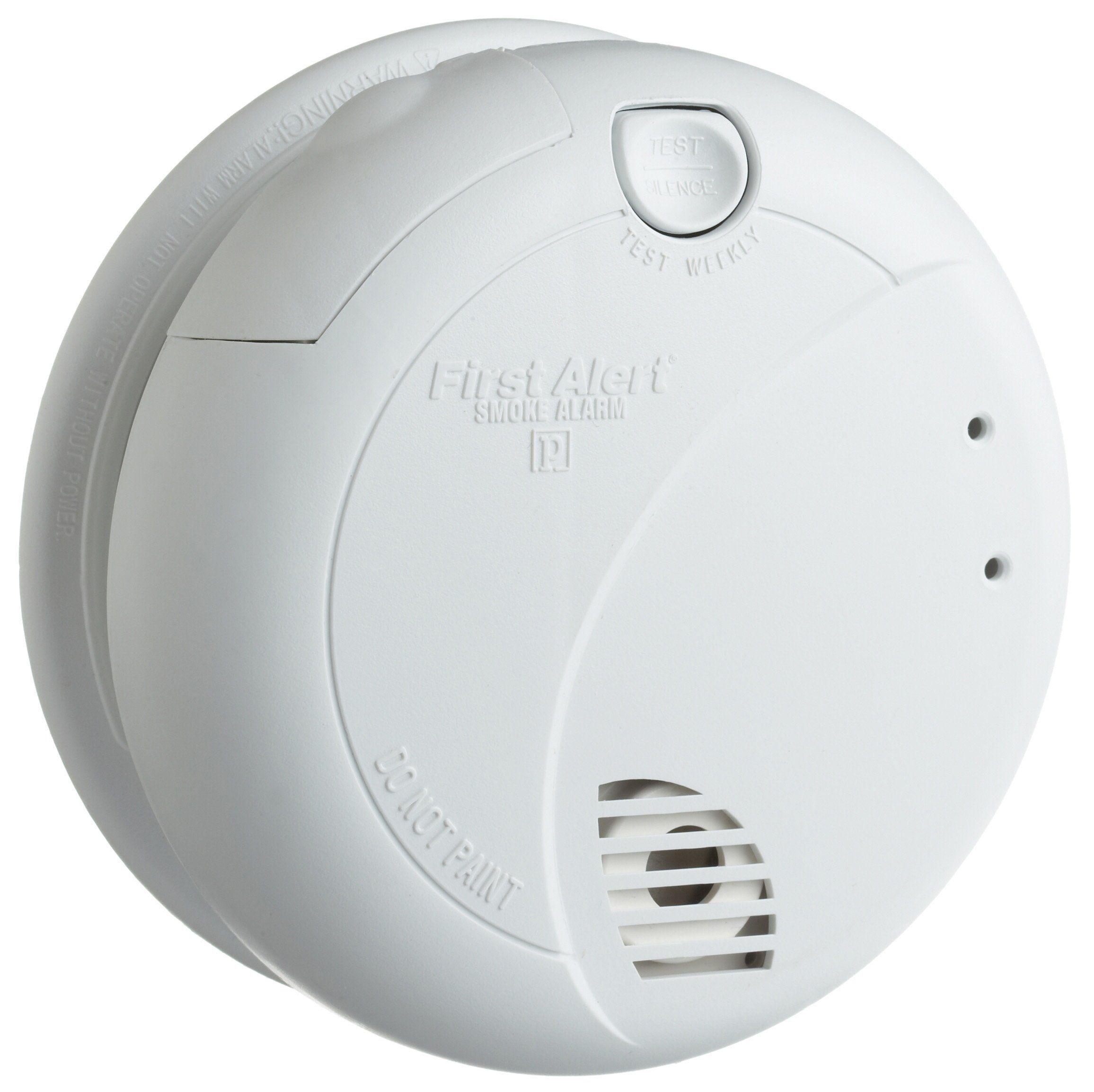 Brk Brands 7010b Hardwire Smoke Alarm With Photoelectric Sensor And Battery Backup Smoke Detectors Amazon In 2020 Smoke Alarms Photoelectric Sensor Battery Backup