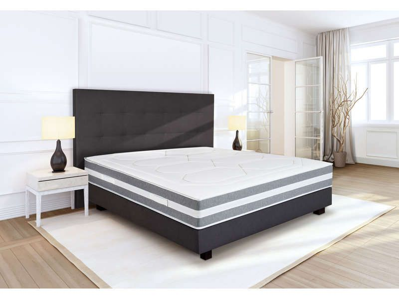 Matelas Ressorts Sommier Tapissier 140x190 Cm Volupnight By Conforama Palace Plaza Pas Cher Soldes Literie Matelas Ressort Sommier Tapissier Matelas A Ressorts