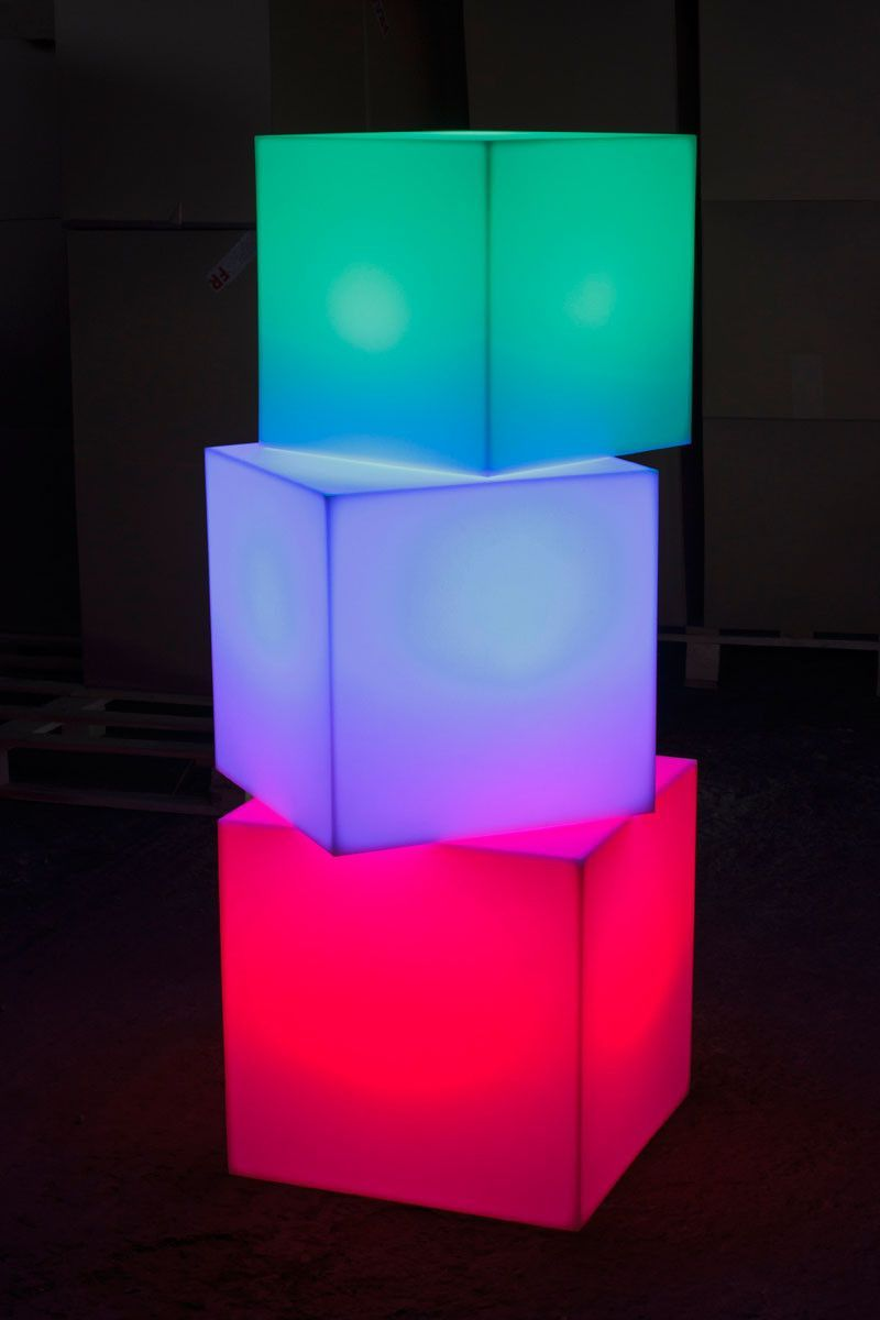 Cube Sharp Led Cordless Lamp By Smart Green Cube Light Cordless Lamps Lamp