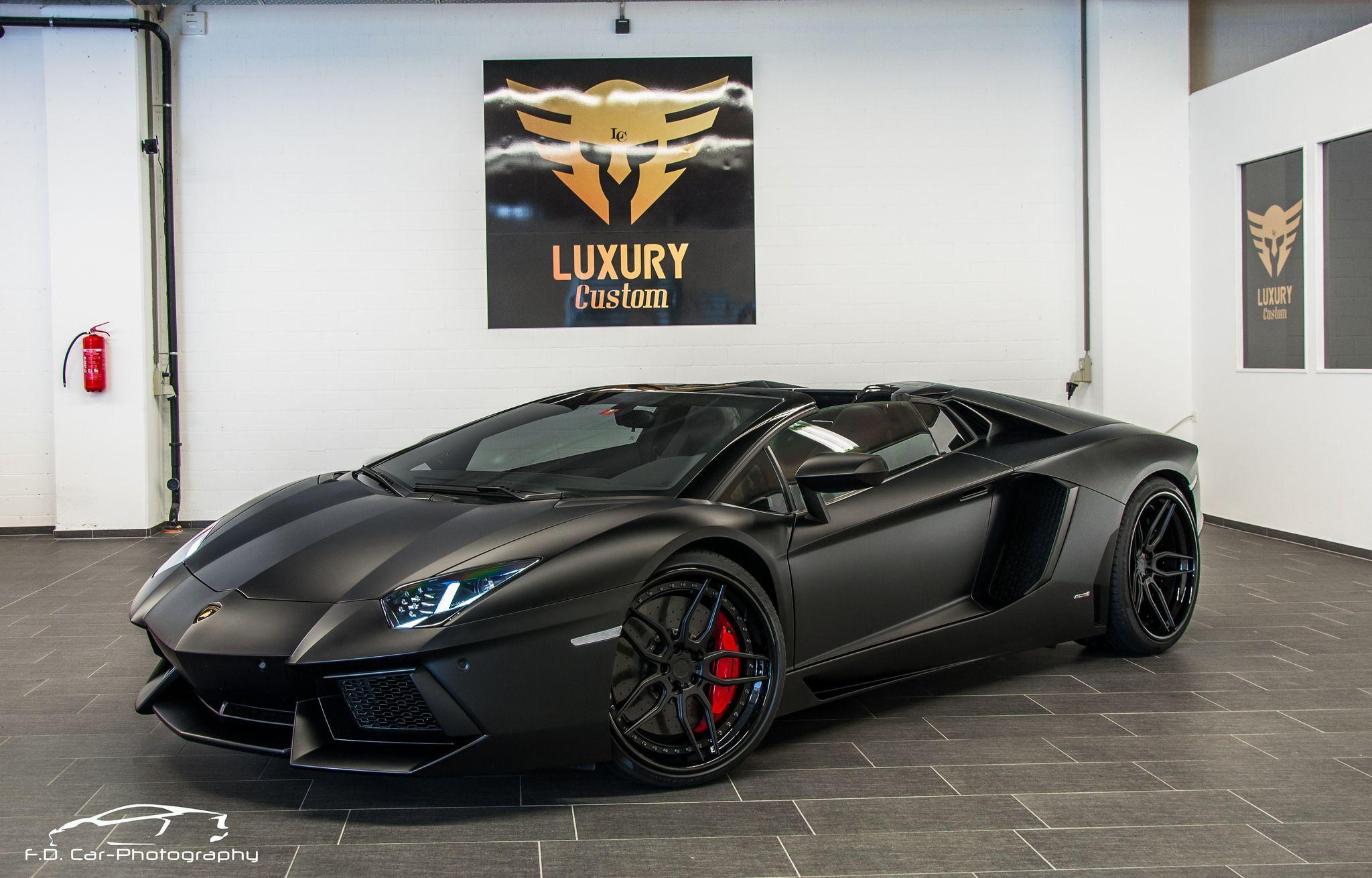 Matte Black Lamborghini Aventador Dream Cars Lamborghini