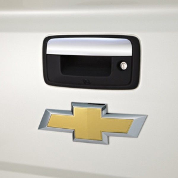 2017 Silverado 1500 Tailgate Handle Chrome Compatible With Rear Camera 84203904 Silverado 1500 Silverado Hd Silverado