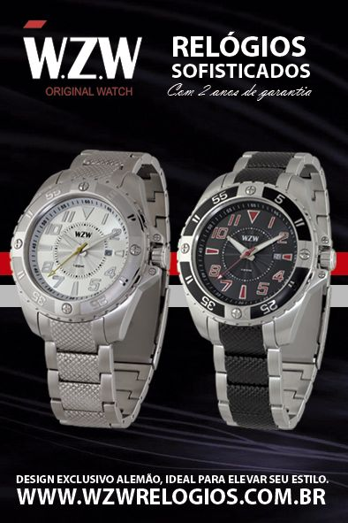 Relógios sofisticados com design exclusivo e 2 anos de garantia. A sofisticação e o design alemão agora mais perto de você.