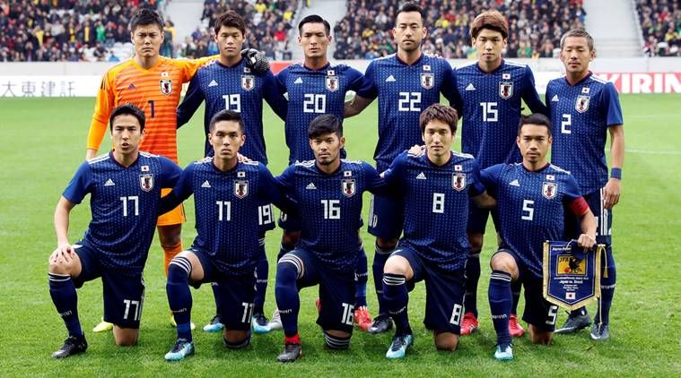 Japan World Cup 2018 Squad Fifaworldcup Fifa2018 2018fifaworldcup Russiaworldcup Football World Cup Teams Japan World Cup World Cup