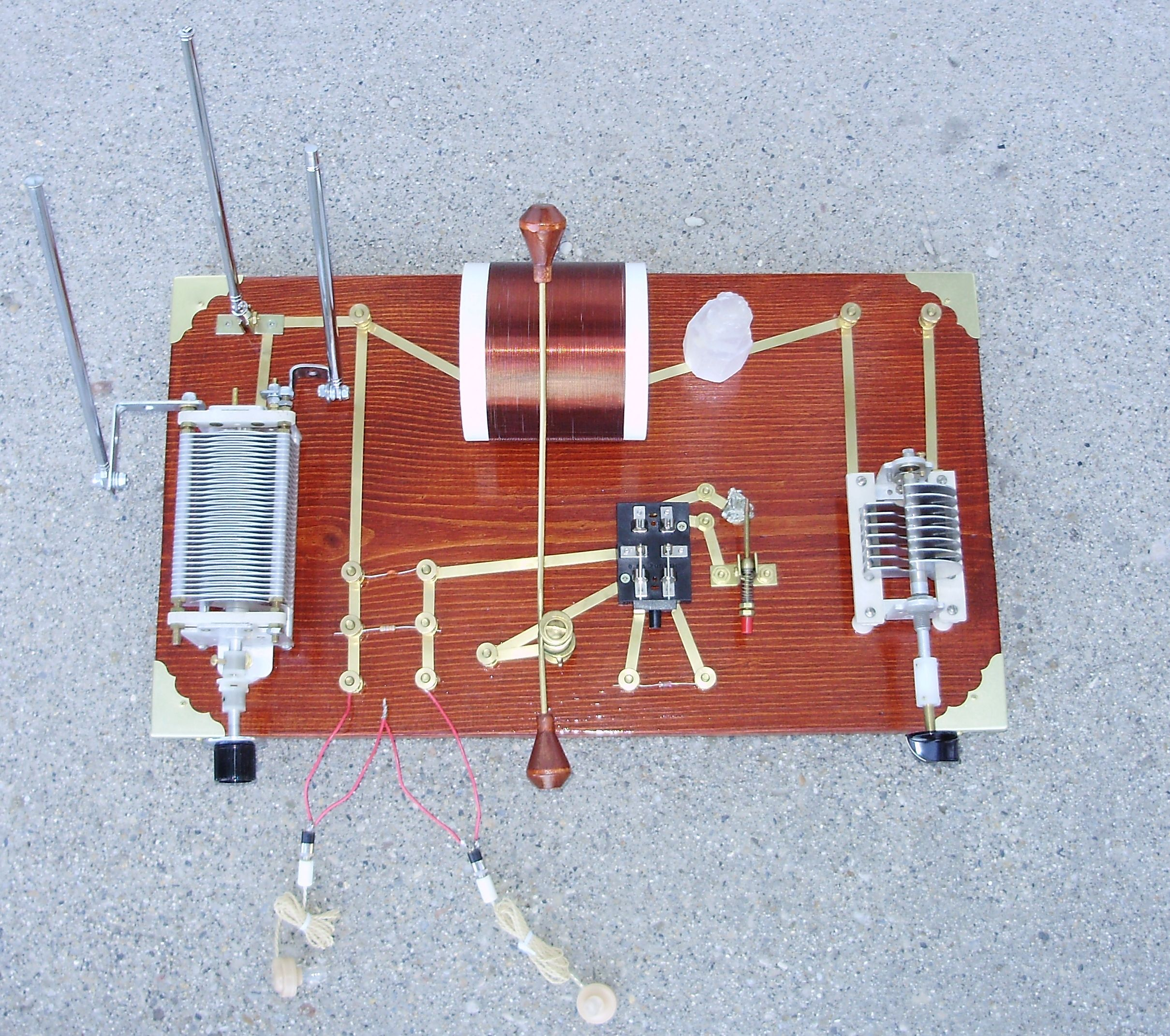 Crystal Radio Pulse Wave A Circuit
