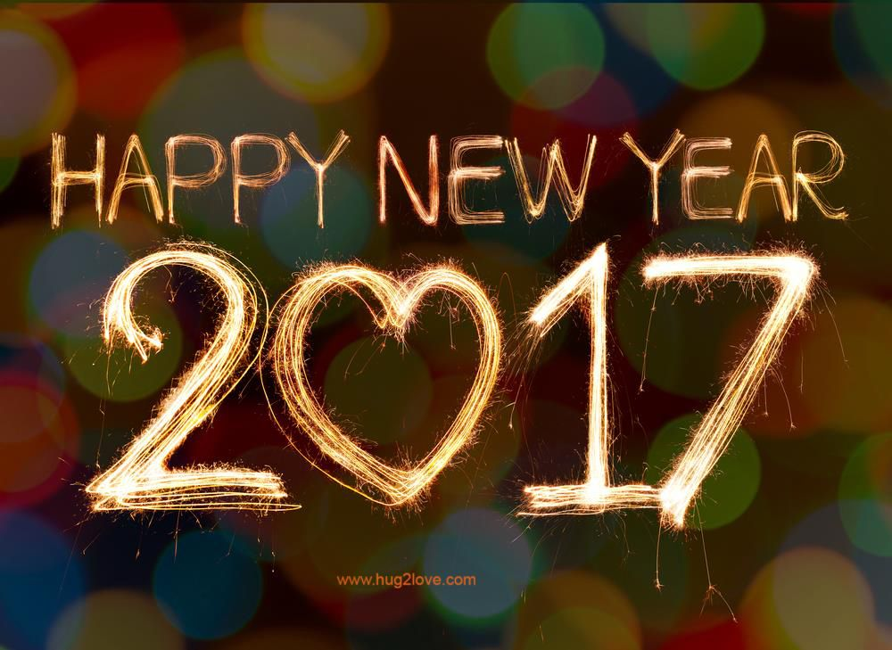 Happy New Year 2017 Images for Facebook, Whatsapp, Twitter, Instagram, etc. New Year 2017 Wishes, GIF, Animated Images
