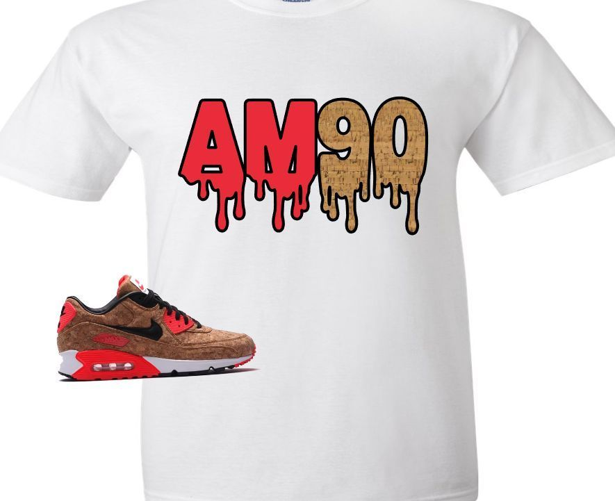 29463b0f80c66 EXCLUSIVE SHIRT TO MATCH NIKE AIR MAX 90 CORKS!