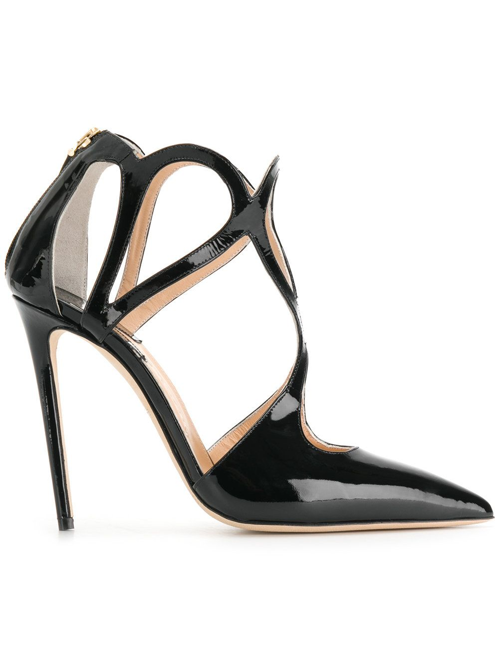 Racine CarréE Cut-detail heeled pumps