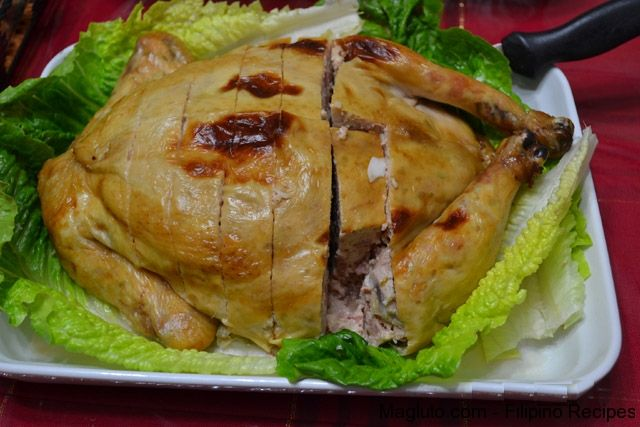 Rellenong manok filipino food recipes chicken recipies rellenong manok filipino food recipes forumfinder Images
