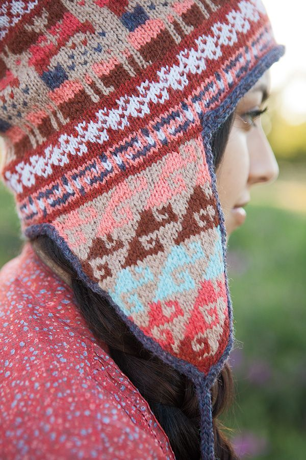 Andean Chullo Hat Knitting Patterns And Crochet Patterns From