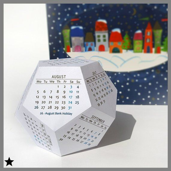 Office & School Supplies 2019 New Year Calendar 2019 Fashion Simple Lovely Mini Table Calendars Vintage Kraft Paper Desk Calendar Office School Supply