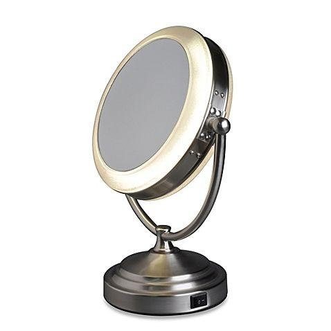Invalid Url Cosmetic Mirror, Floxite Daylight 1x 10x Cosmetic Mirror