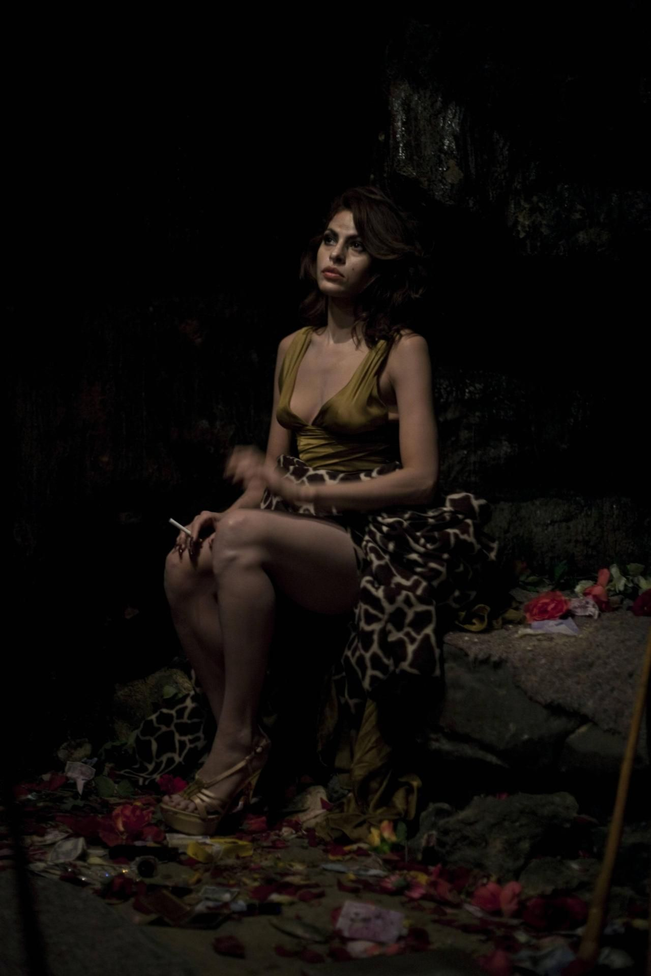 Eva Mendes as Kay M. in Holy Motors directed by Leos Carax, 2012