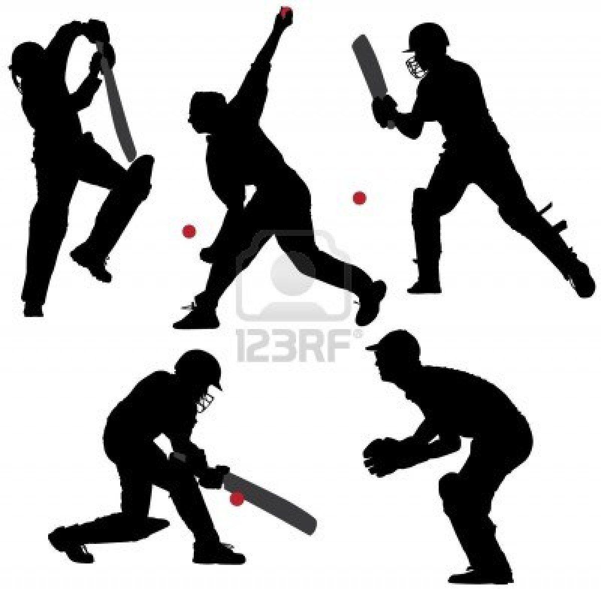 Stock Vector Cricket sport, Cricket logo, Cricket equipment