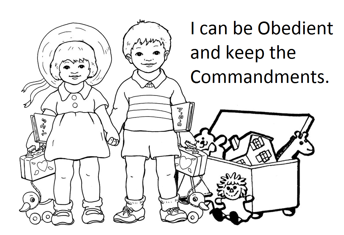 Obedience Pages Printable Coloring Pages
