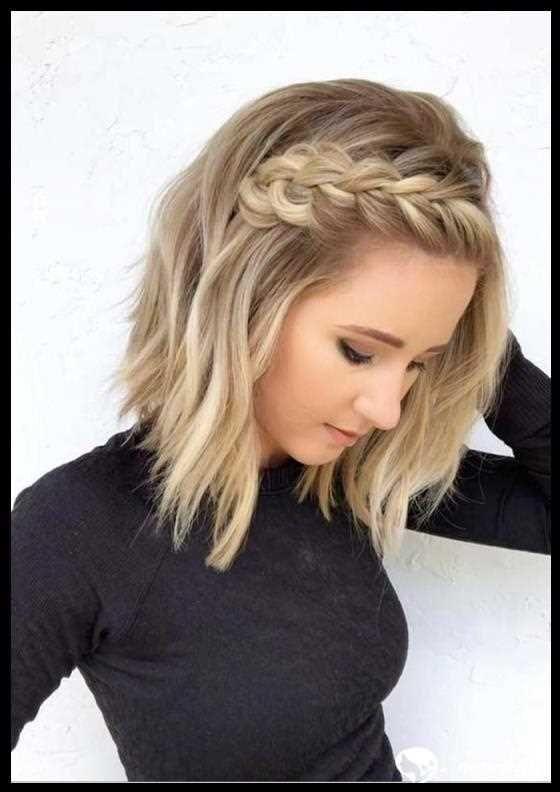97 Interessante Zopfe Fur Kurzes Haar 2019 Hair Coole Bob Bobfrisuren Coolesthairstylefor Braids For Short Hair Prom Hairstyles For Short Hair Hair Styles