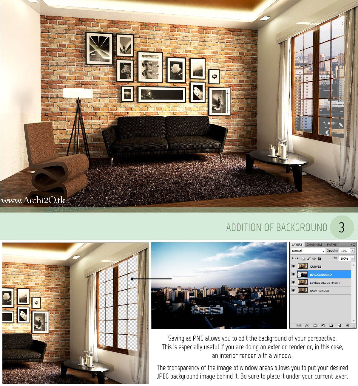 Vray For SketchUp Tutorial Part 3: POST PROCESSING Full Article At: