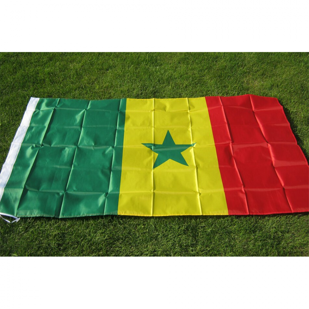 Double Sided Senegal National Flag Football Bomb Senegal National Flag Football National Flag
