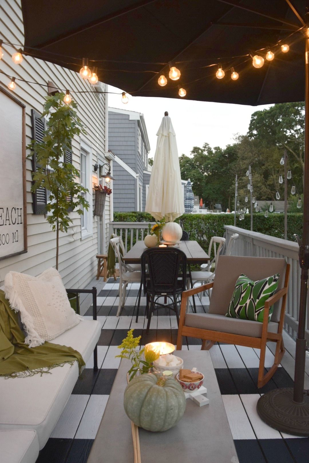 Top 5 Most Bang For Your Buck Ideas To Do In Your Home   Nesting With  Grace. Small Backyard DecksSmall BackyardsOutdoor PaintOutdoor ...