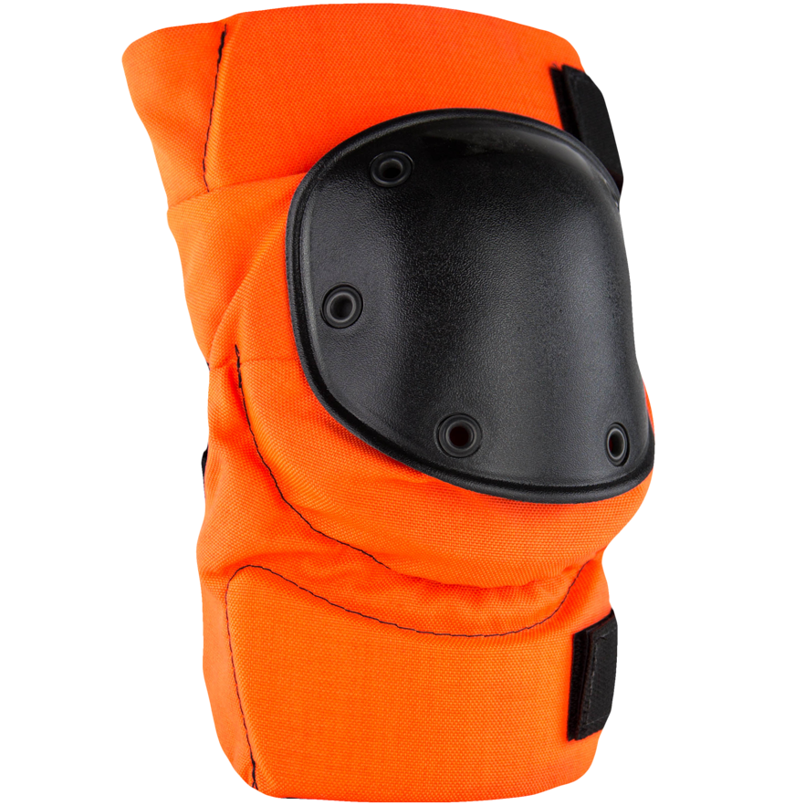 Army Style Knee Pads International Orange