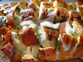 Recipes Straight from the Kowboys Home: Cheesy Garlic Herb Bread
