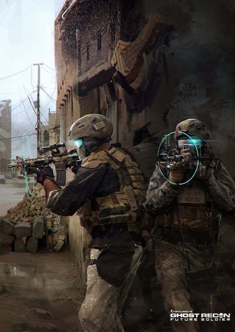 Grey Ops: Camouflage in Video Games: A-TACS in Ghost Recon Future ...