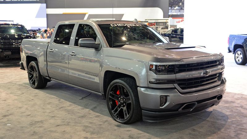 Chevrolet Supercharges The Silverado Performance Concept