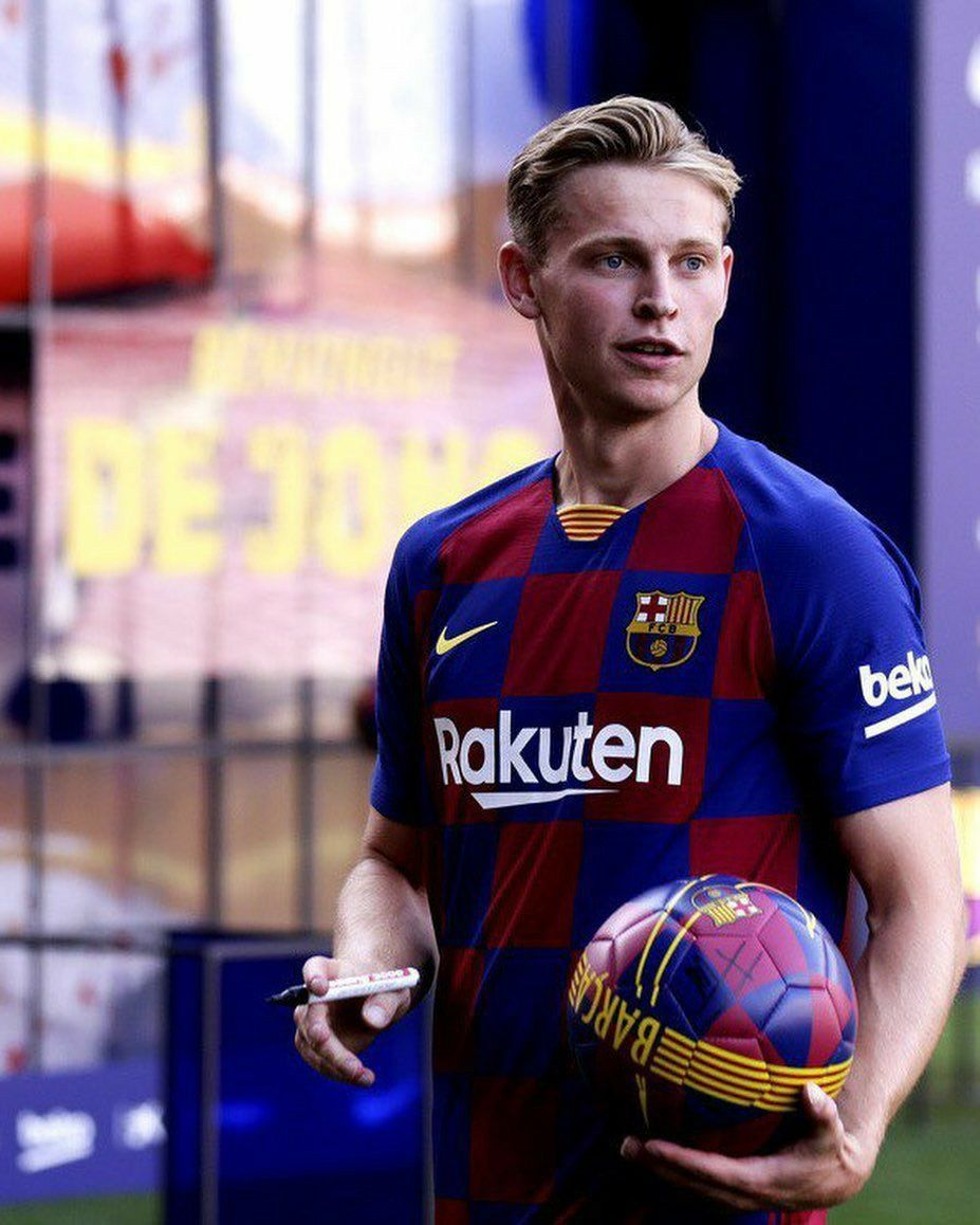 Pin On Frenkie De Jong