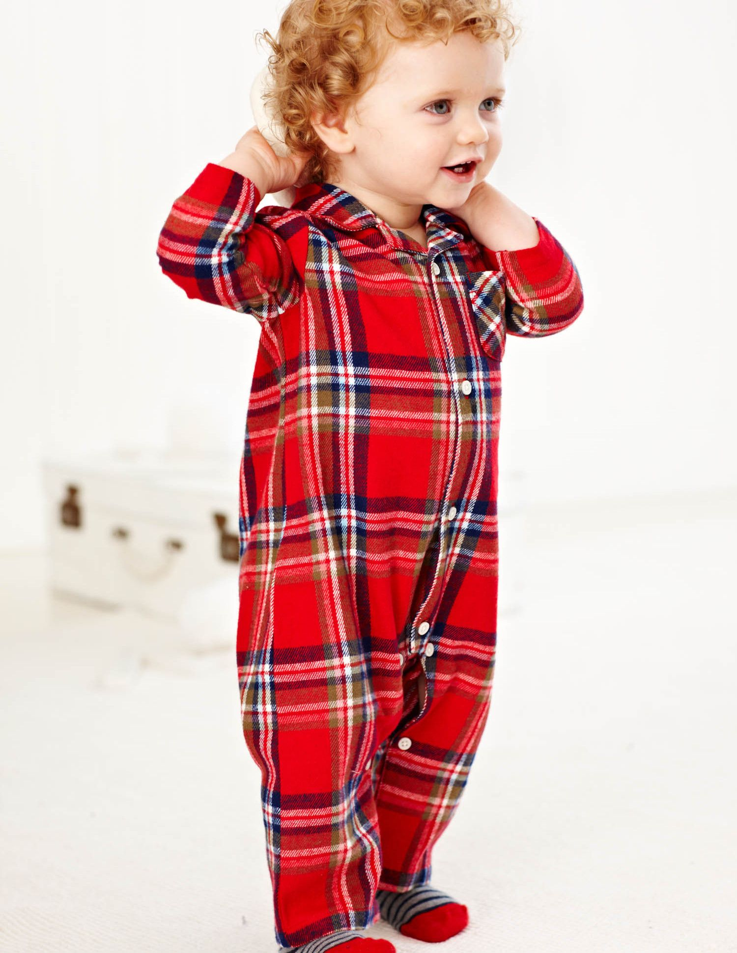 1099495d4 The ultimate cosy all-in-one. Lovely checks on super soft flannel ...