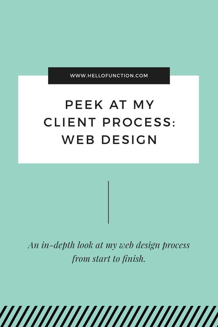 My Client Process Part 2 Web Design Web Design Quotes Web Design Web Design Tips