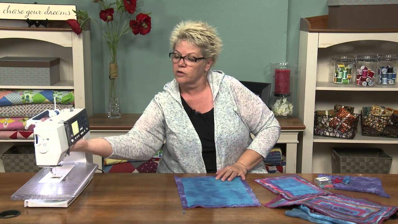 How to Make a Dozen Layer Frayed Quilt