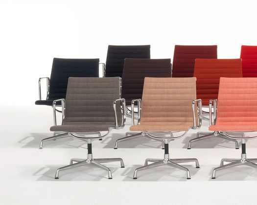 Aluminium Group EA 117 / 119 chairs. Iconic Eames you can