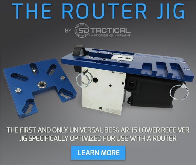 The Router Jig - Universal AR-15 80% Lower Receiver Jig | Ar
